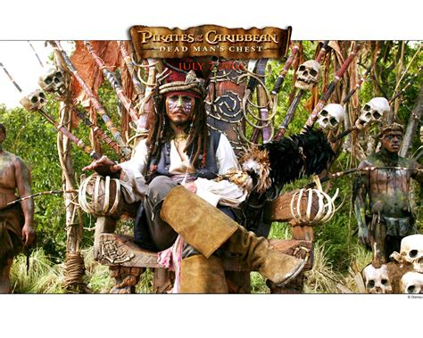 Dead Mans Chest by Sparrow Of The Caribbean Wallpaper 35029