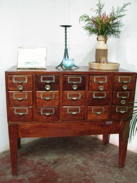Library Card Catalog Furniture by Library Card Catalog As Furniture Home Stuff