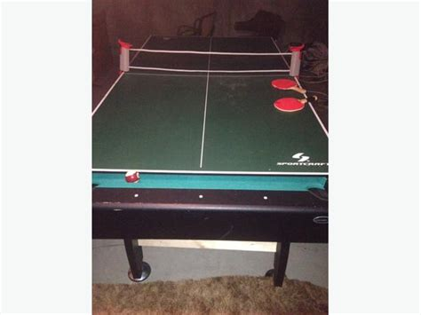 Pool Table Ping Pong Combo by Ping Pong Pool Table Combo