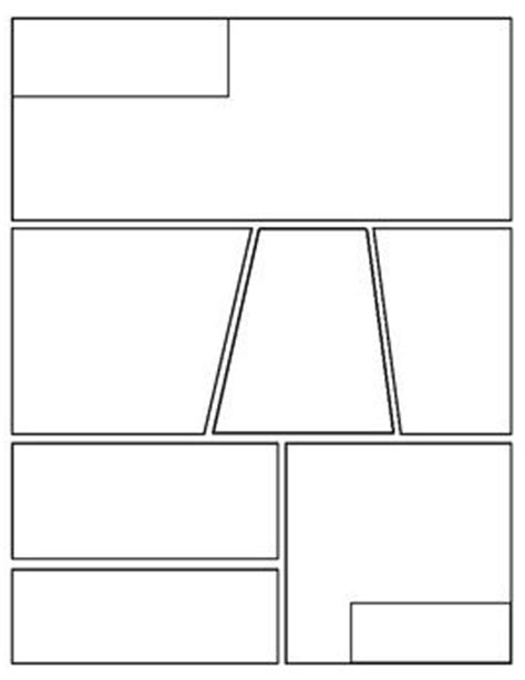 this is a blank graphic novel comic book template that