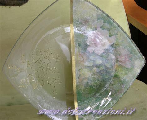 tutorial decoupage su vaso di vetro vaso decorato con decoupage decoglass volume effetto frost