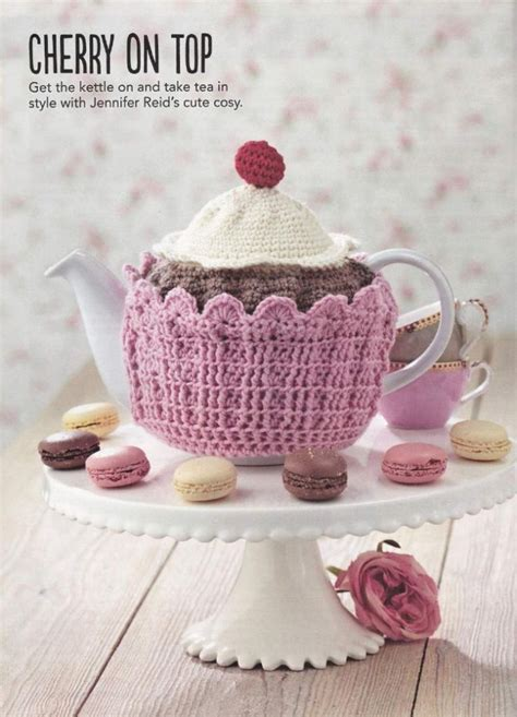 cupcake tea cosy knitting pattern free free crochet tea cozy pattern archives crochet kingdom