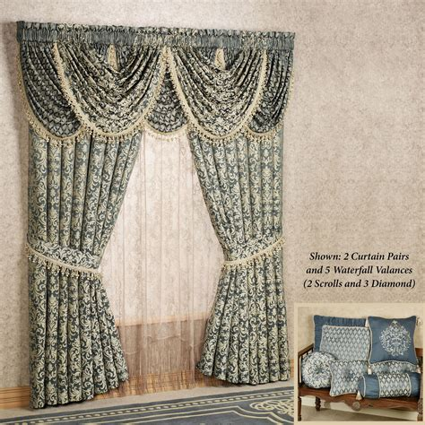 waterfall valance pattern waterfall valance pattern sterling waterfall valances