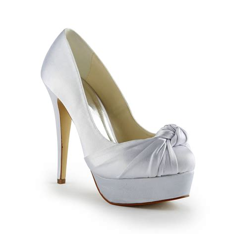 Satin Pumps Wedding by S Gorgeous Satin Stiletto Heel Pumps With Ruched
