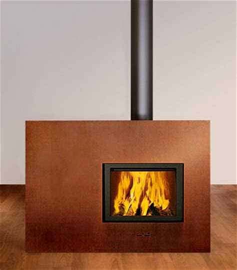 contemporary wood fireplace by attika x board fireplace