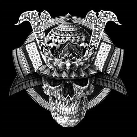 image gallery samurai skull