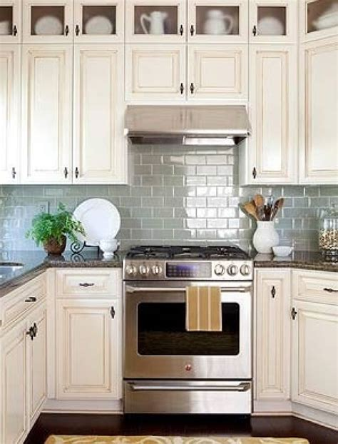 antique white kitchen cabinets for sale white glass white cabinets subway tile backsplash feathering the