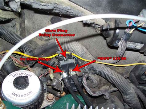 glow plug switch manual operated diesel
