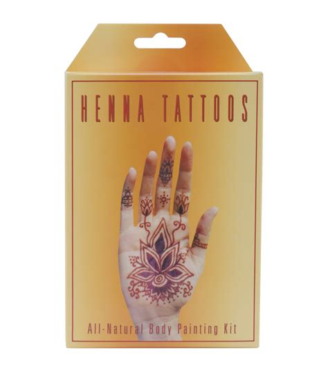 temporary tattoo kit earth henna kit temporary henna tattoos jo