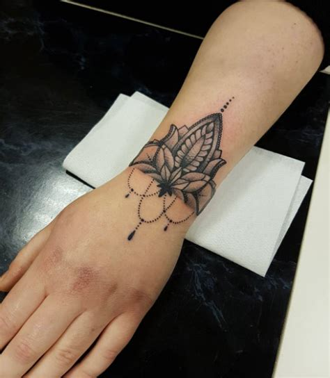 wrist cuff tattoo designs 65 adorable wrist tattoos all should consider