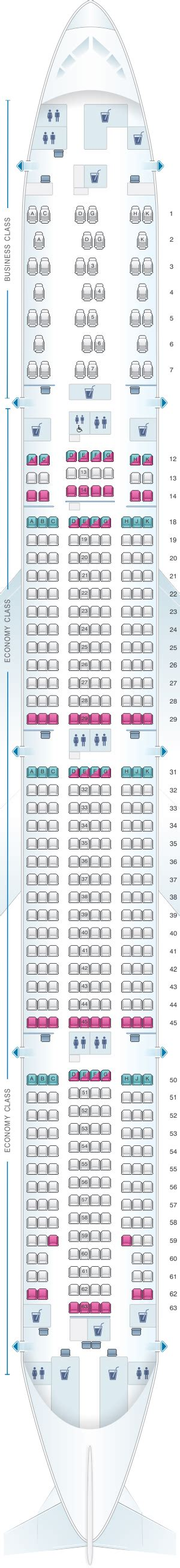 77w seat map air canada 777 300er seat map brokeasshome