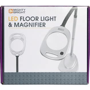 mighty bright craft light with magnifier mighty bright floor light magnifier grey black home