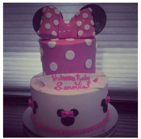 Baby Shower Minnie Mouse Cake by 17 Best Images About Baby Shower Cakes On
