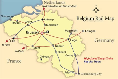 map of belgium and how to get around belgium like a local