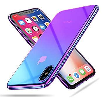 raxfly compatible fit new iphone xr 6 1 stylish gradual colorful ultra thin