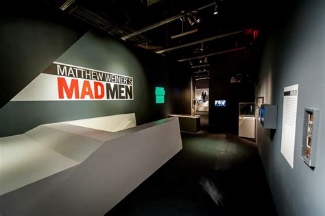 step into don draper s office in splashy new mad men exhibit step into don draper s office and the mad men writers