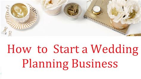 wedding planner start a wedding planning business