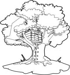 treehouse coloring pages magic tree house colouring pages