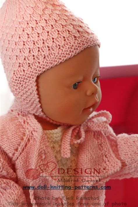 yon knitting abbreviation knit gorgeous doll clothes in pink and white