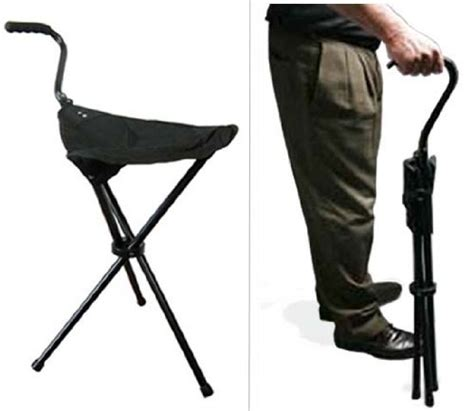 get portable walking chair stool from the stadium