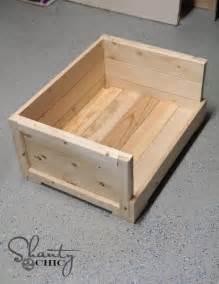Diy wood dog bed diy 12 pet bed shanty 2 chic