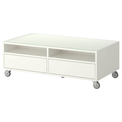 Ikea Tafel 50 Bij 50 by Boksel Salontafel Wit Ikea 120 60 40 Gaat Er Uit 71 50