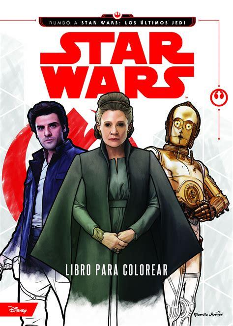 libro star wars adventures in star wars rumbo a los ltimos jedi libro para colorear librera imagina