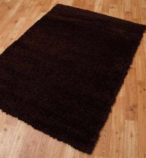 chocolate brown rug shaggy plains rugs in chocolate brown