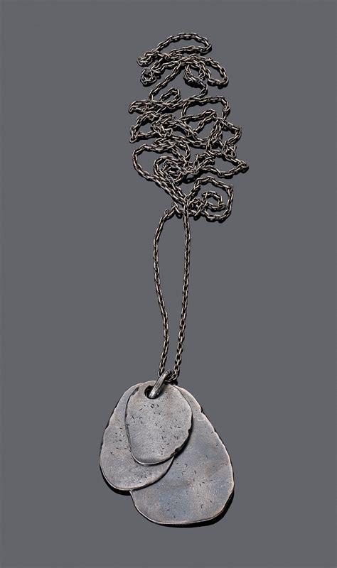 Botega Silver bottega veneta s oxydized silver pendant jewellery