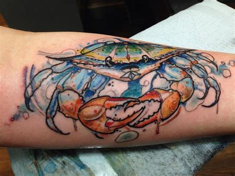 metamorph tattoo 51 best tattoos images on crab blue