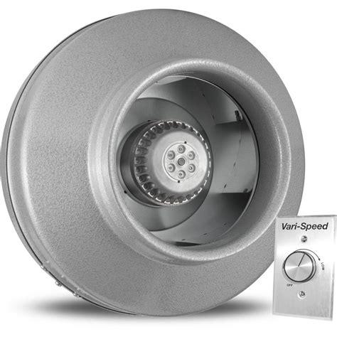 800 cfm inline exhaust fan vortex powerfan 8 in l 651 cfm inline fan with vari speed