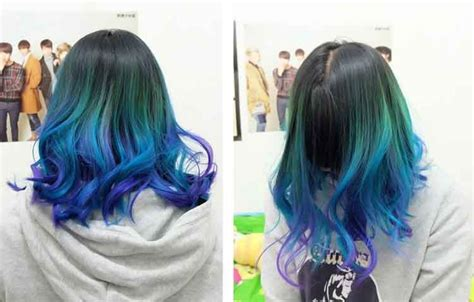 tren warna model rambut highlight  model terbaru