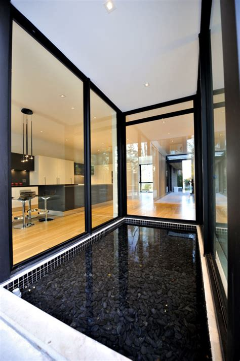 house windows canada a sophisticated glass house in canada design milk