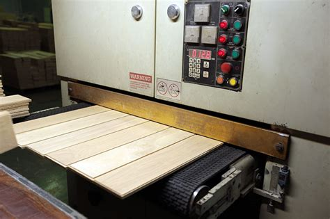 Machine and Equipment for Flooring Production
