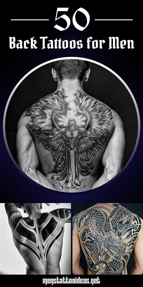 tattoos for back for men back tattoos for ideas and designs for guys