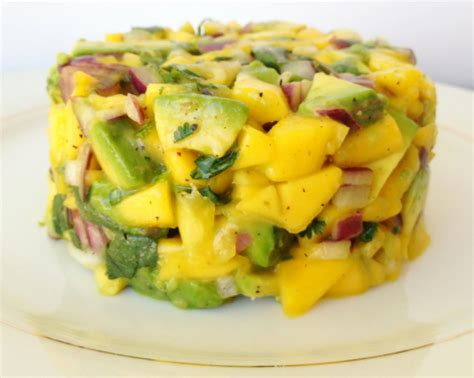 Wich Of The Week Avocado And Mango With Cilantro Lime Mayonnaise by Mango Avocado Salsa My Healthy Dish