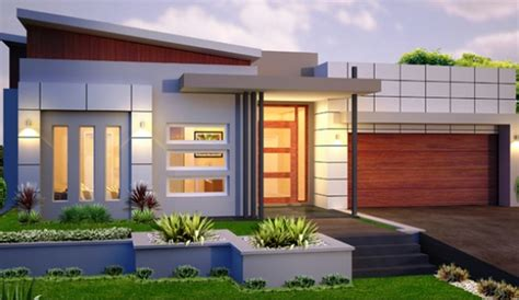 Floor Plans Small House by Modern Single Storey House Designs Home Design 2017