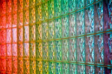 colored walls colored glass block walls lovetoknow