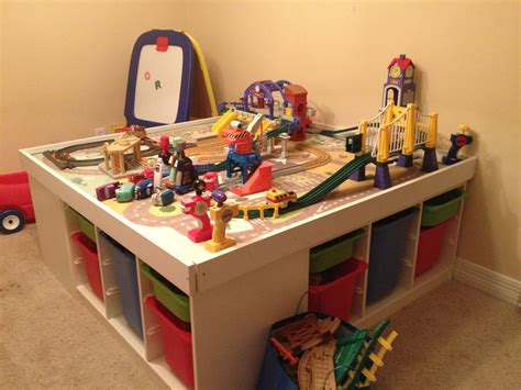 train set and table ikea train table trofast particle board screwdriver