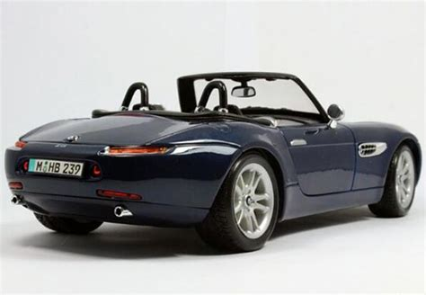 maisto bmw z8 blue silver 1 18 scale maisto diecast bmw z8 model