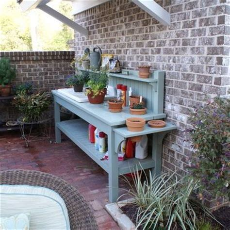 Patio Serving Table Patio Workbench Could Be Used For Serving Table For The