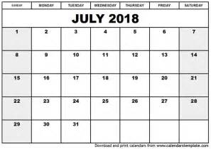 Calendar Through 2018 Best Calendar July 2017 Through June 2018 2017 2018