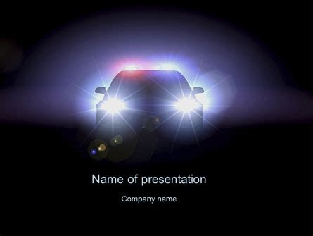 free enforcement powerpoint templates car at presentation template for powerpoint