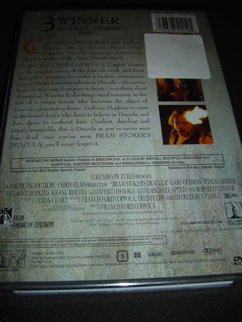 anthony hopkins keanu reeves bram stoker s dracula dvd new tom waits anthony hopkins