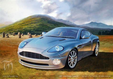 Aston Martin 2005 by 2005 Aston Martin Vanquish Ted Nasmith