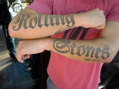 rolling stones tattoos 1000 ideas about on gem