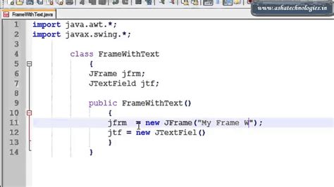 java swing tutorial how to make a frame in java frame design reviews