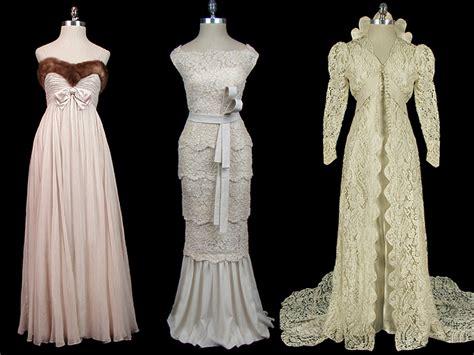 Vintage dresses elegant