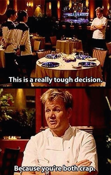 Kitchen Jokes One Liners Gordon Ramsay S Insults Are So Sharp They Cut Like A Knife
