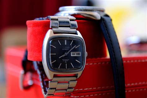 jam tangan 4 u king seiko 5246 5010 automatic used item